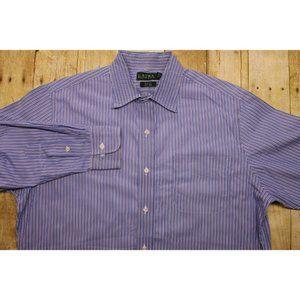 Ralph Lauren Slim fit non iron shirt mens 16.5 32